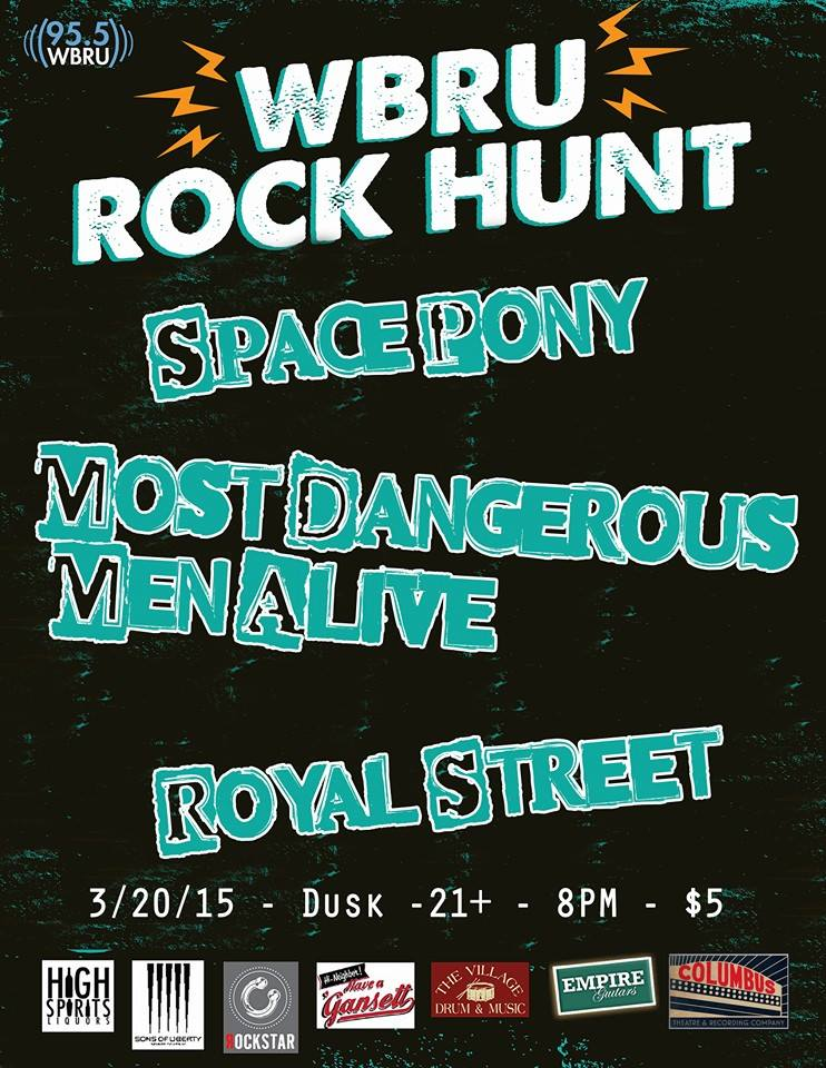 WBRU Rock Hunt 03_20_15